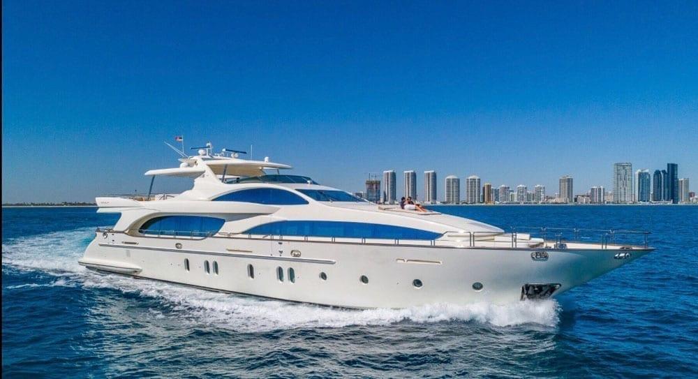 Miami superYacht charter 116' Azimut