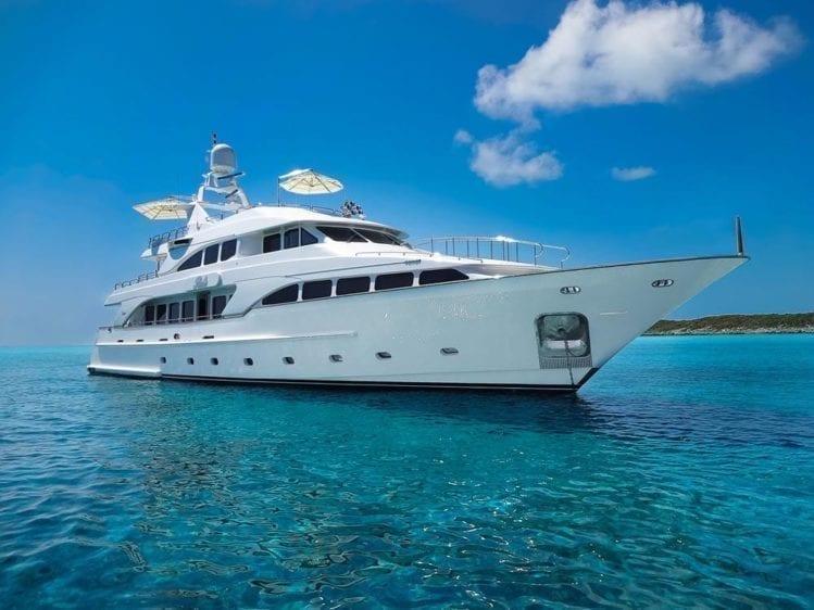Miami Yacht Rentals 116' Benetti