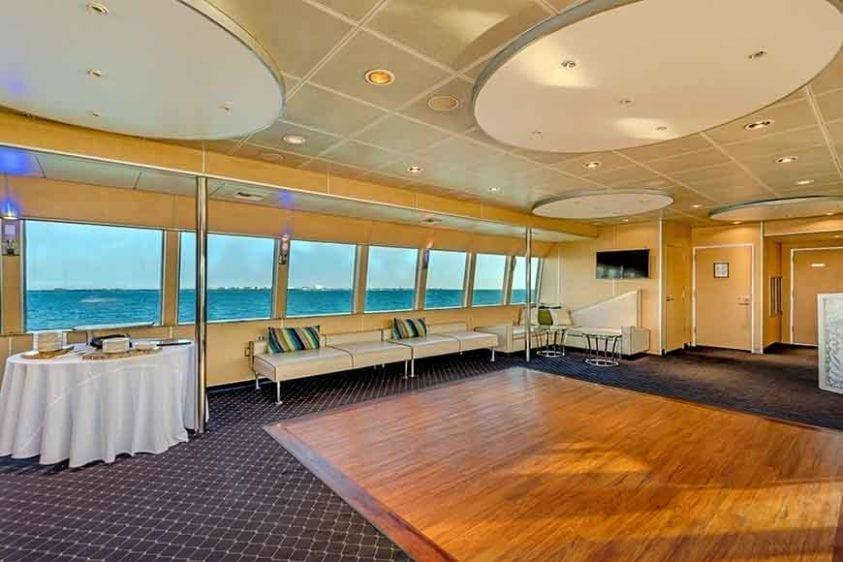 Miami Yacht Rentals 130' Austral Marine Dance Floor