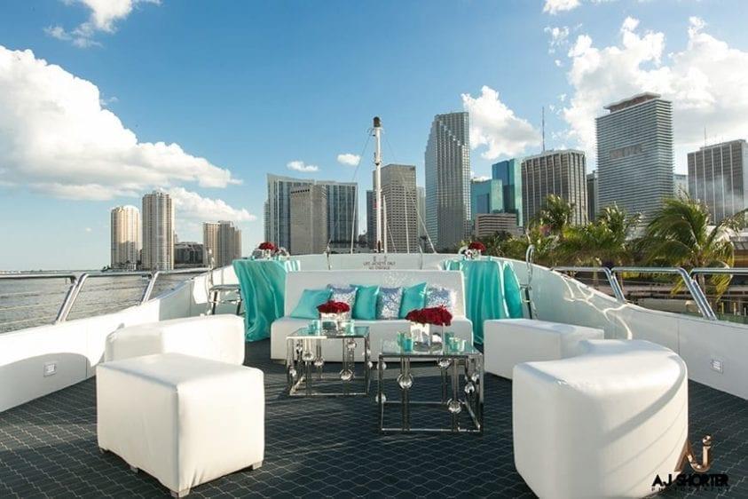 Miami Yacht Rentals 130' Austral Marine Upper Deck