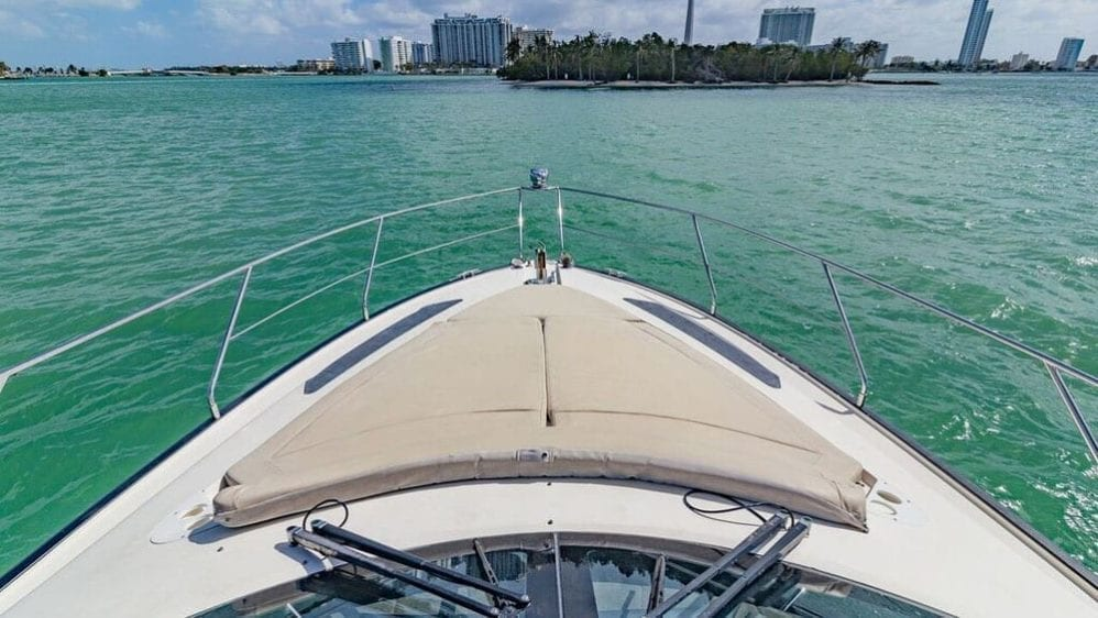 Miami Yacht Rentals 43' Marquis Bow Pads