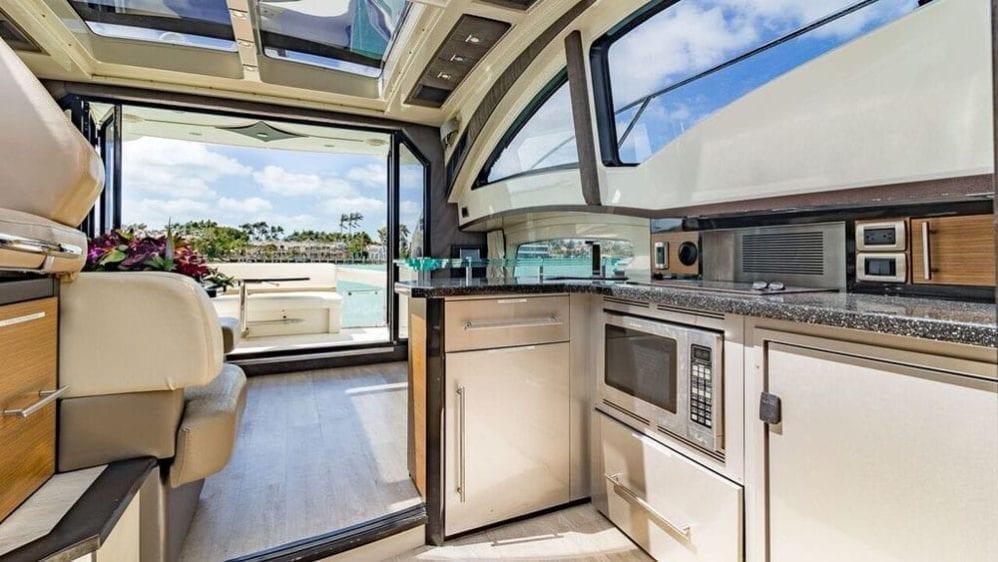 Miami Yacht Rentals 43' Marquis Galley Aft