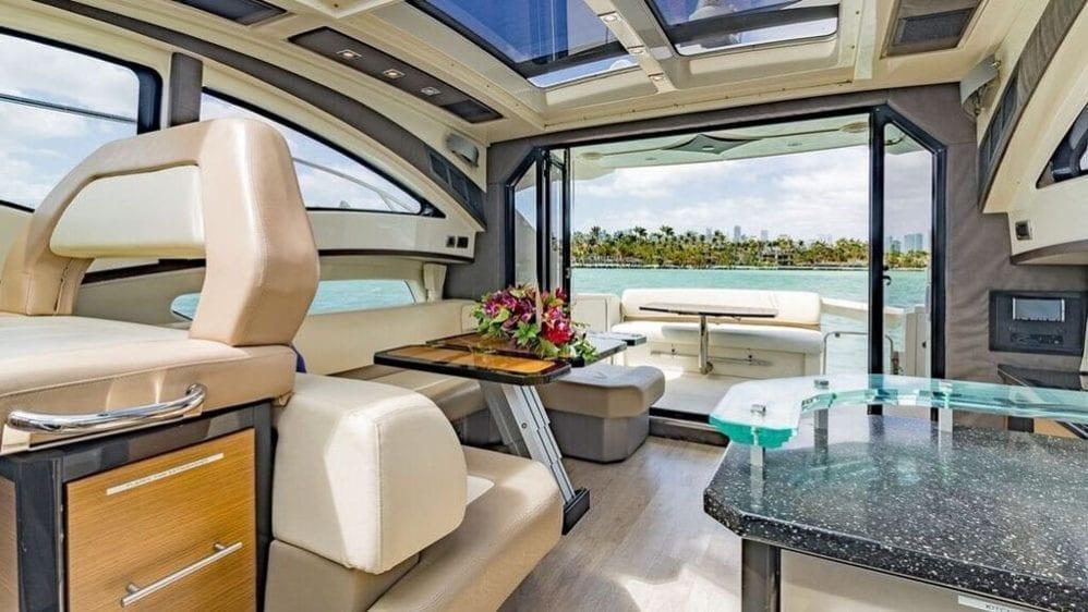 Miami Yacht Rentals 43' Marquis Salon