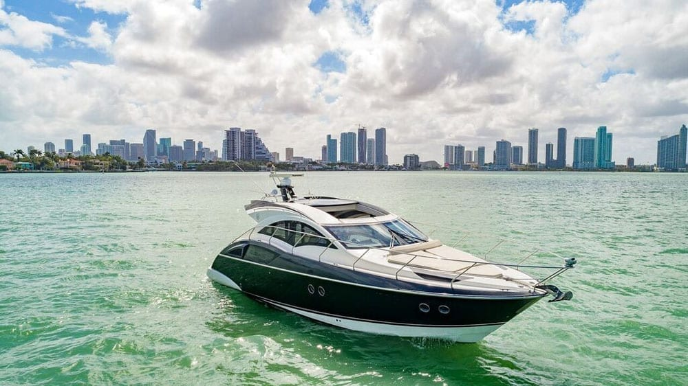 Miami Yacht Rental 43' Marquis