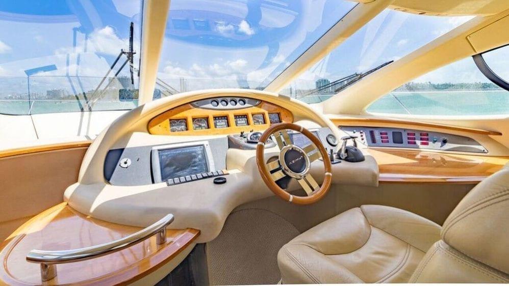 Miami Yacht Rentals 55' Azimut Helm