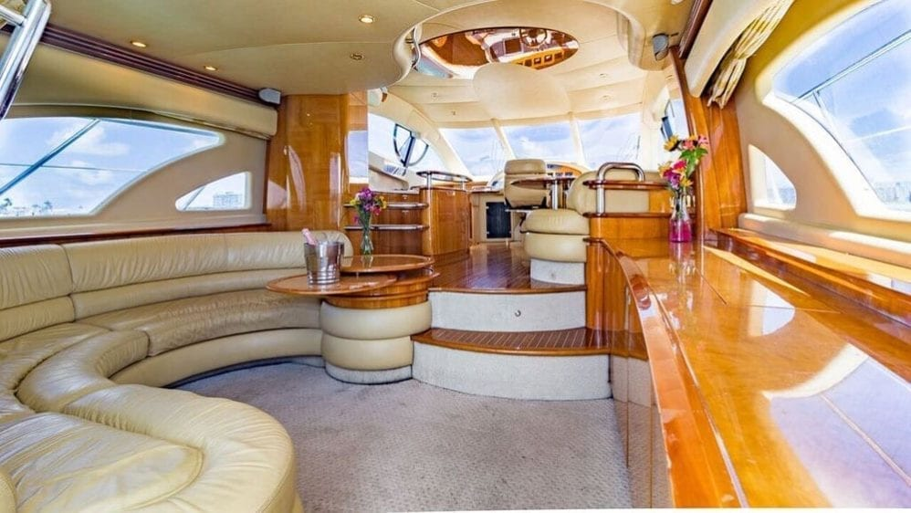 Miami Yacht Rentals 55' Azimut Salon