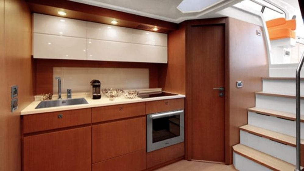 Miami Yacht Rentals 62' Azimut Galley
