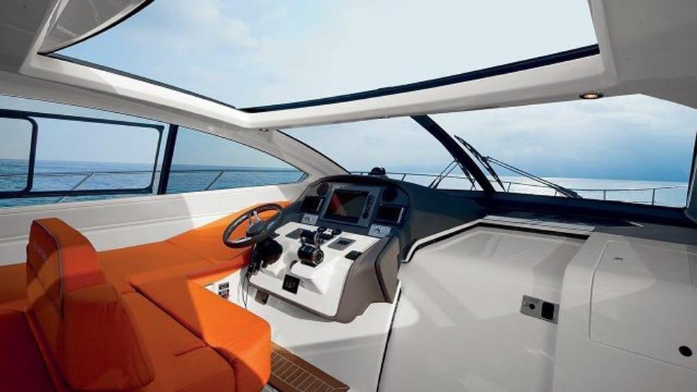 Miami Yacht Charter 62' Azimut Helm