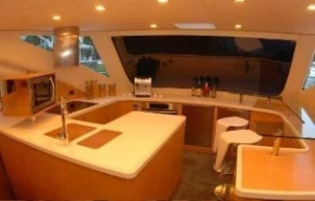 Miami Yacht Rentals 62' Rodriguez Galley