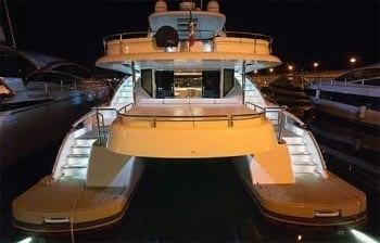 Miami Yacht Rentals 62' Rodriguez Stern