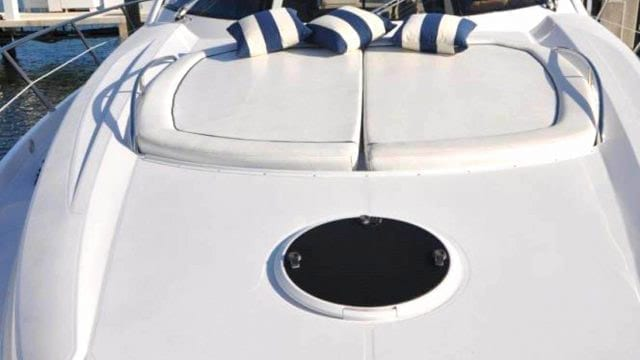 Miami Yacht Rentals 72' Sunseeker Bow Pads
