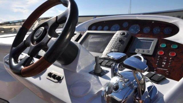 Miami Yacht Rentals 72' Sunseeker Helm