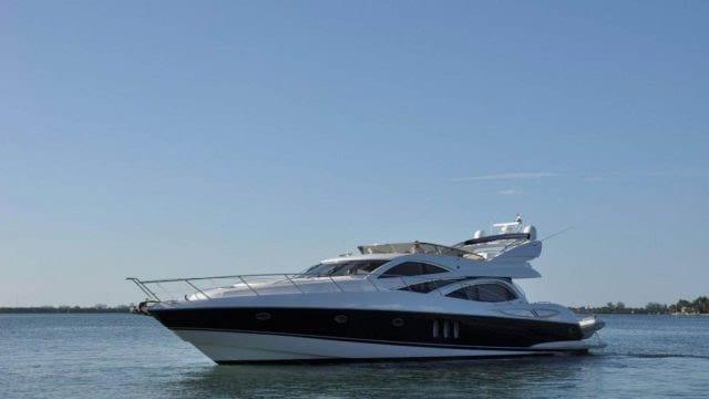 Miami Yacht Rentals 72' Sunseeker Port