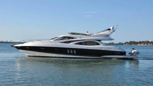Miami Yacht Rentals 72' Sunseeker