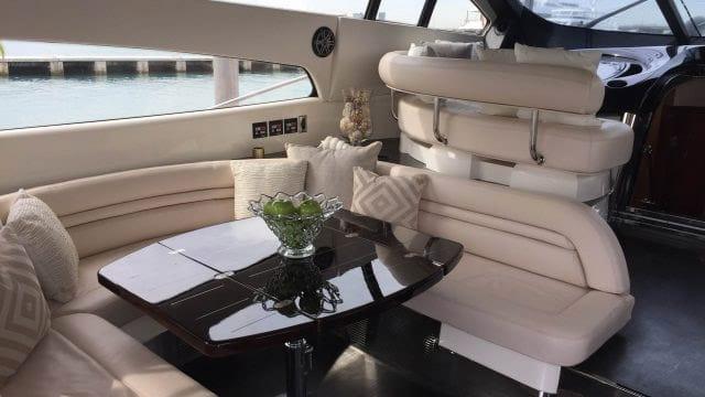 Miami Yacht Rentals 75' Predator Salon 2