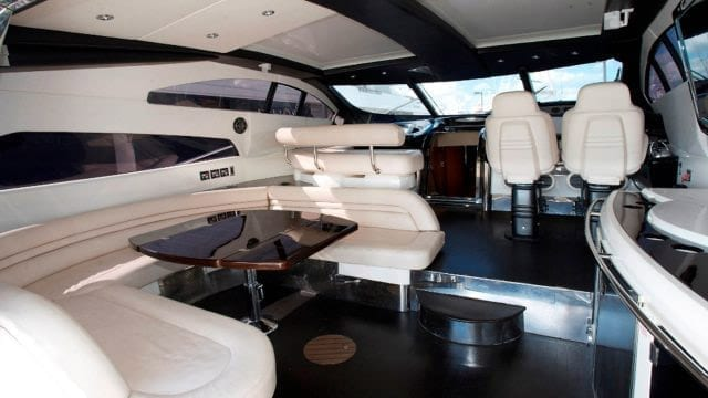Miami Yacht Rentals 75' Predator Salon