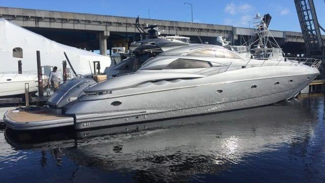Miami Yacht Rentals 75' Predator Starboard