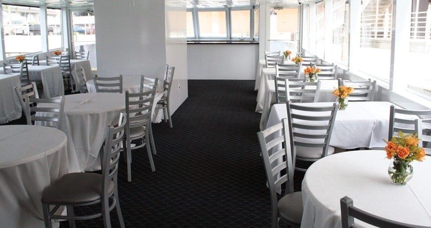 Miami Yacht Rentals 75' Skipperliner Interior
