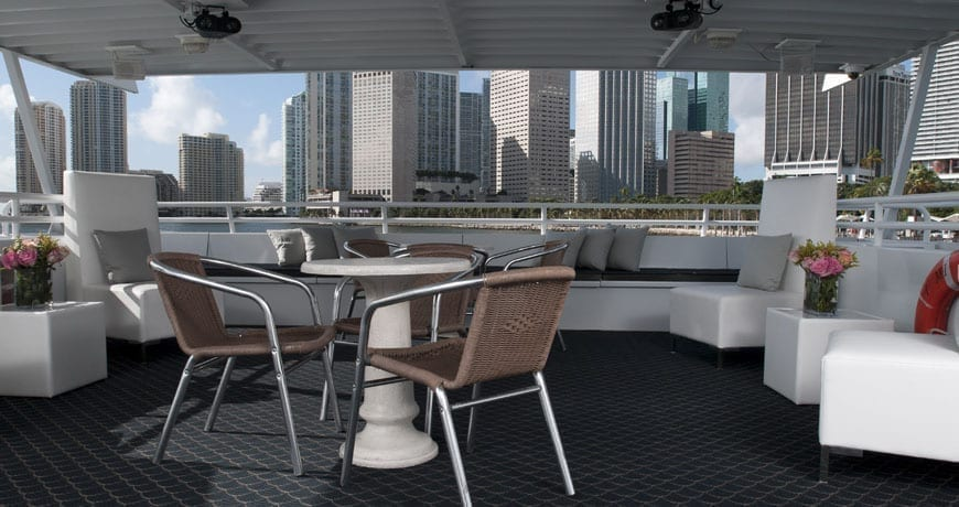 Miami Yacht Rentals 75' Skipperliner Upper Deck 2