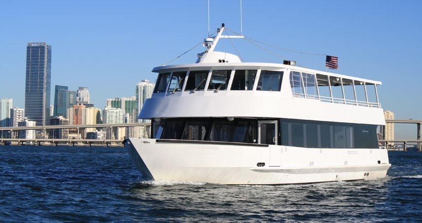 Miami private party yacht 75' Skipperliner