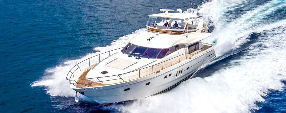 Miami private yacht rental 75' Viking Princess