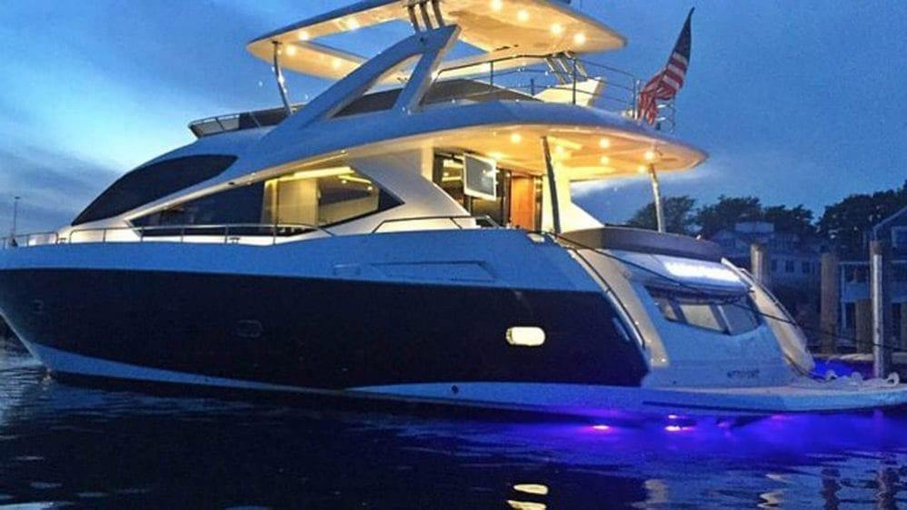 Miami Yacht Rentals 76' Sunseeker
