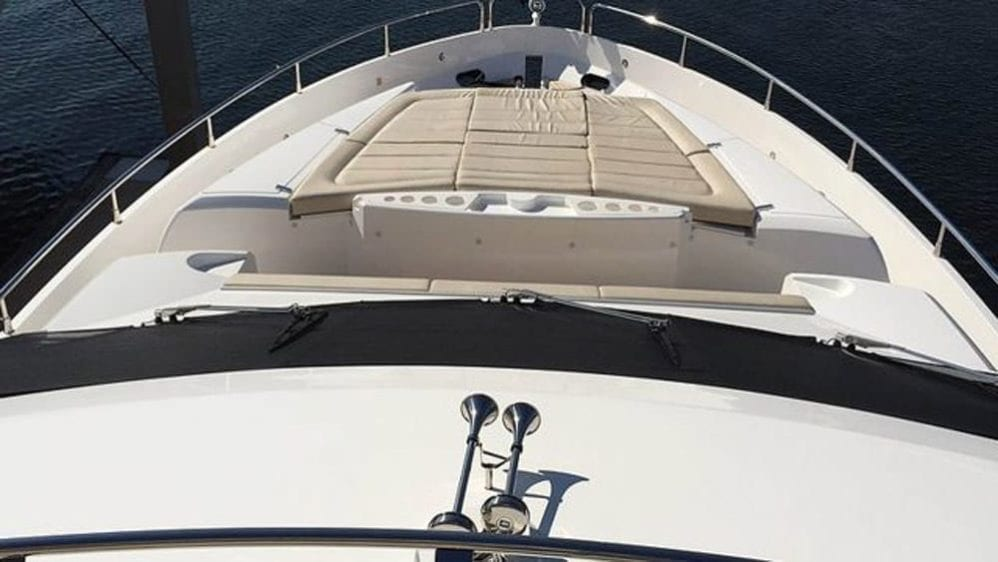 Miami Yacht Rentals 76' Sunseeker Bow