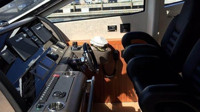 Miami Yacht Rentals 76' Sunseeker Helm