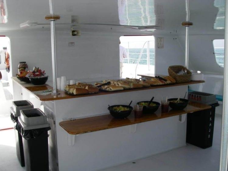 Miami Yacht Rentals 78' Gold Coast Bar