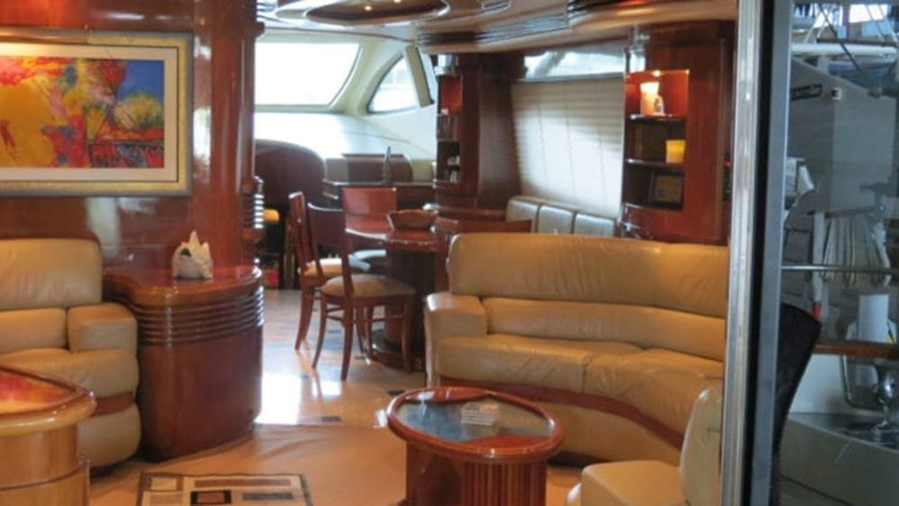 Miami Yacht Rentals 80' Azimut Salon