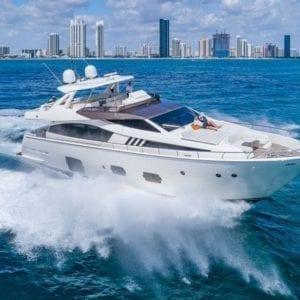 Miami Yacht Rentals 80' Ferretti