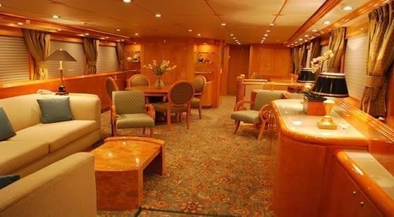 Miami Yacht Rentals 80' Hatteras Salon