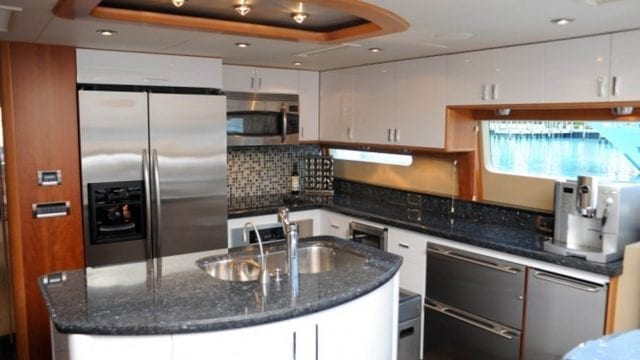 Miami Yacht Rentals 84' Lazzara Galley