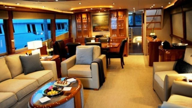 Miami Yacht Rentals 84' Lazzara Salon