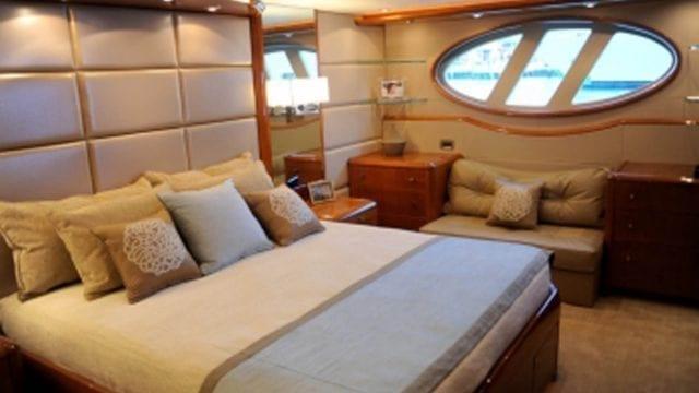 Miami Yacht Rentals 84' Lazzara Stateroom