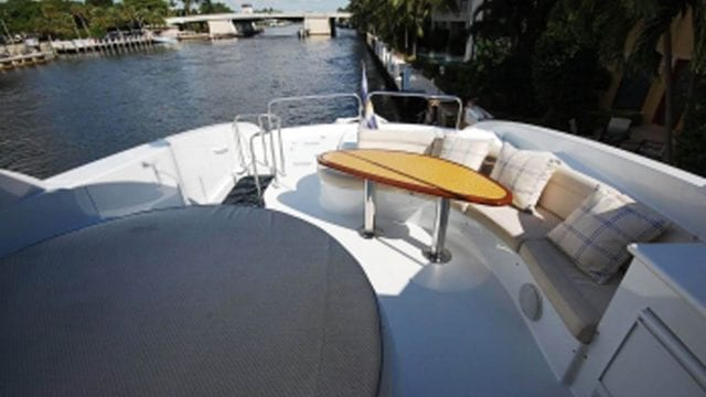 Miami Yacht Rentals 84' Lazzara Upper Deck