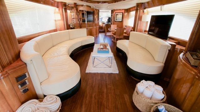 Miami Beach Charter Yacht 86' Azimut Salon