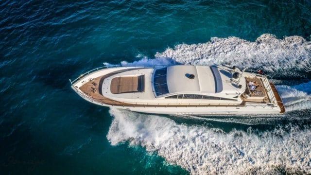 Miami Yacht Rentals 92' Leopard Air Shot