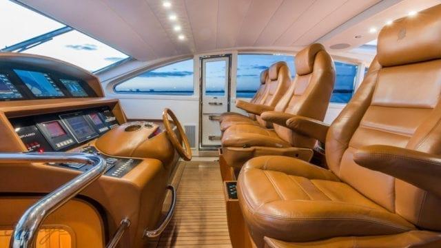 Miami Yacht Rentals 92' Leopard Helm