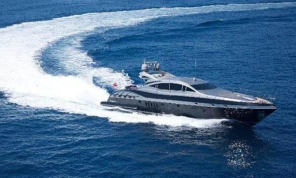 Miami Yacht Rentals 92' Mangusta Cruising