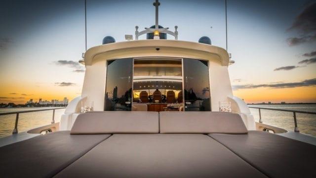 Miami Yacht Rentals 92' Salon Access