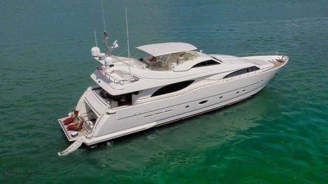 Miami Yacht Rentals 94' Ferretti Starboard
