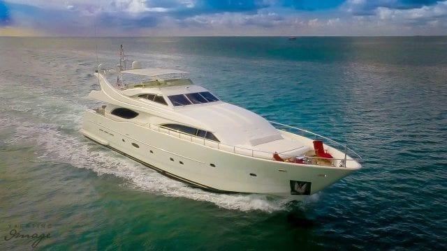Miami Yacht Rentals 94' Ferretti