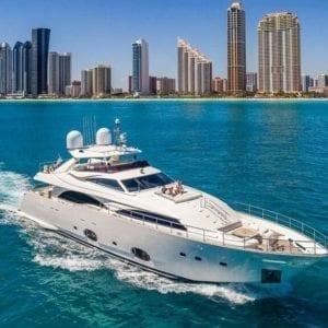 Miami Yacht Rentals 97' Ferretti