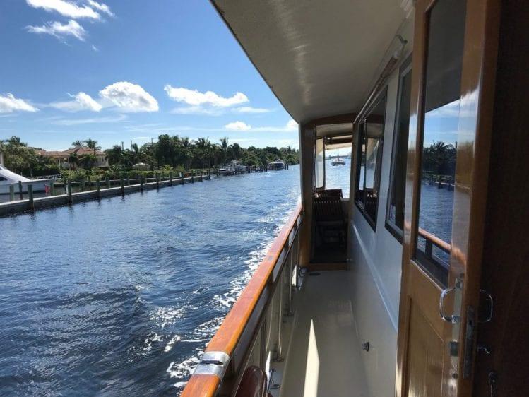 Naples yacht charter walkway