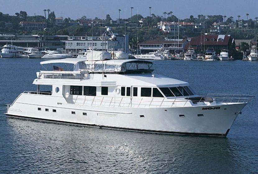 Newport Beach Yacht Rentals 100' Dittmar Profile