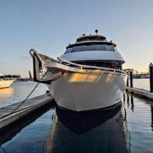 Newport Beach Yacht Rentals 100' Skipperliner