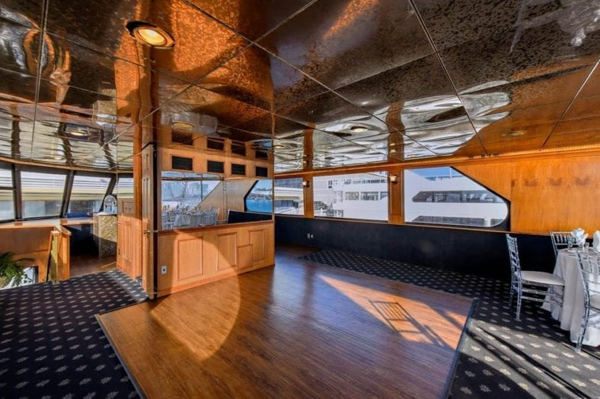Newport Beach Yacht Rentals 100' Skipperliner Dance Floor