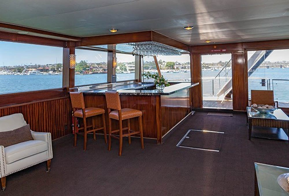 Newport Beach Yacht Rental 110' Seacraft Bar