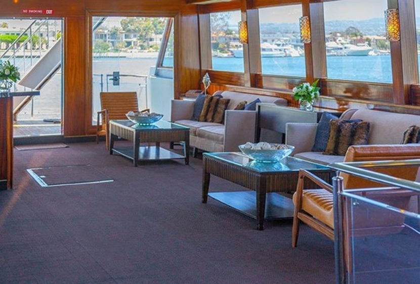 Newport Beach Yacht Rentals 110' Seacraft Salon